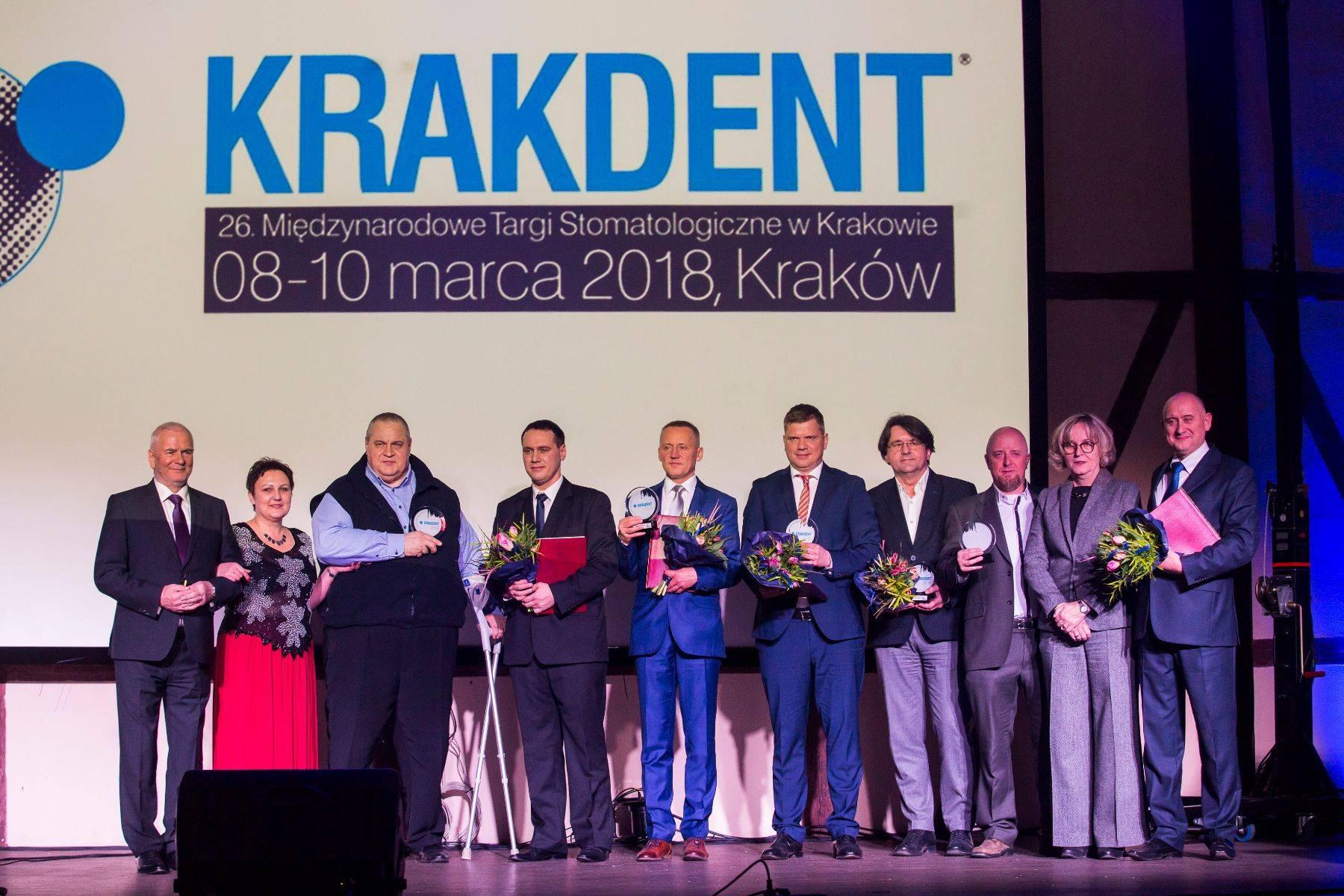 Medale Najwyższej Jakości KRAKDENT 2018