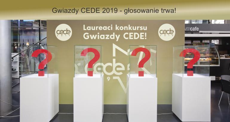 Gwiazdy CEDE 2019 glosowanie trwa